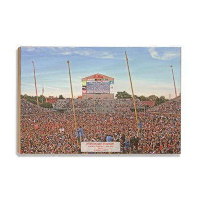 Ole Miss Rebels - Mississippi Mayhem - College Wall Art #Wood