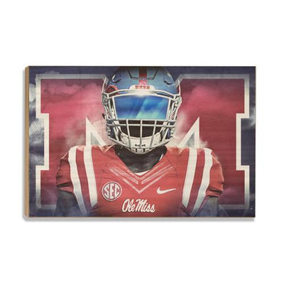 Ole Miss Rebels - Epic Ole Miss - College Wall Art #Wood