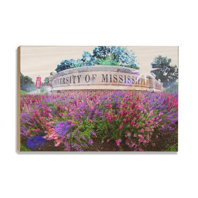 Ole Miss Rebels - University of Mississippi - College Wall Art #Wood