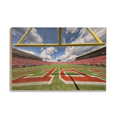 Ole Miss Rebels - Vaught-Hemingway End Zone - College Wall Art #Wood