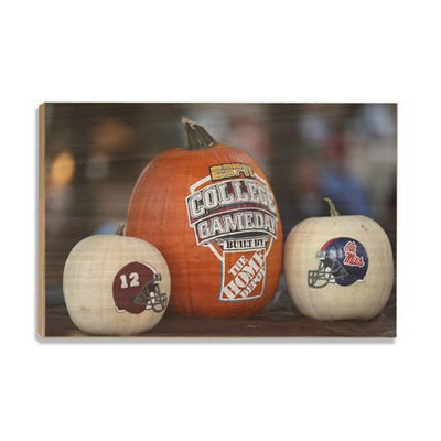 Ole Miss Rebels - Game Day - College Wall Art #Wood
