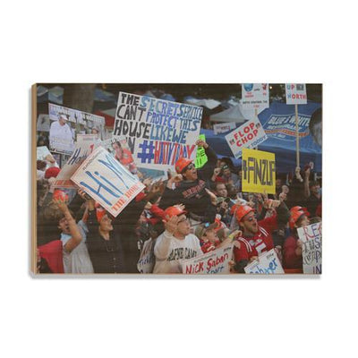 Ole Miss Rebels - Game Day Grove - College Wall Art #Wood