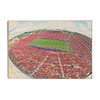 Ole Miss Rebels - Red Out - College Wall Art #Wood