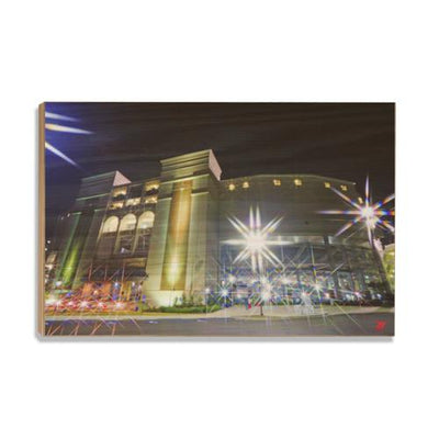 Ole Miss Rebels - Vaught Night - College Wall Art #Wood
