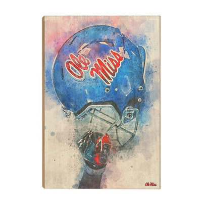 Ole Miss Rebels - Ole Miss Pride - College Wall Art #Wood