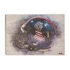 Ole Miss Rebels - Military Appreciation Day Helmet - College Wall Art #Wood