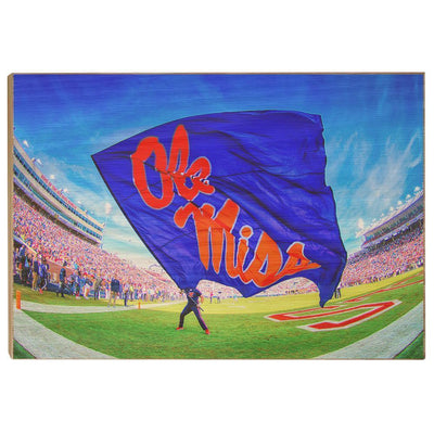 Ole Miss Rebels - This Is Ole Miss - College Wall Art #Wood
