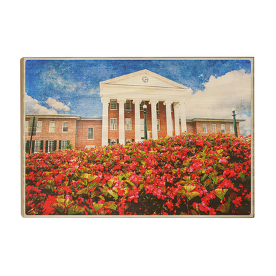 Ole Miss Rebels - Lyceum Paint - College Wall Art #Wood