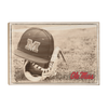 Ole Miss Rebels - Ole Miss Vintage Baseball - College Wall Art #Wood