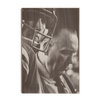Ole Miss Rebels - Vintage Archie Manning Bruiser Kinard - College Wall Art #Wood