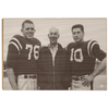 OLE MISS REBELS - Vintage Khayat Doc Knight_Bobby Ray Franklin - College Wall Art #Wood