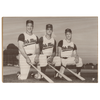 OLE MISS REBELS - Vintage Roberts, Lusk, Huffman - Colllege Wall Art #Wood