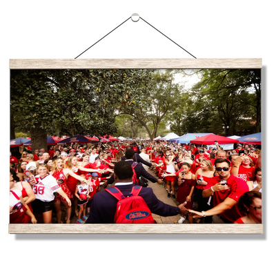 Ole Miss Rebels - The Walk - College Wall Art #Hanging Canvas
