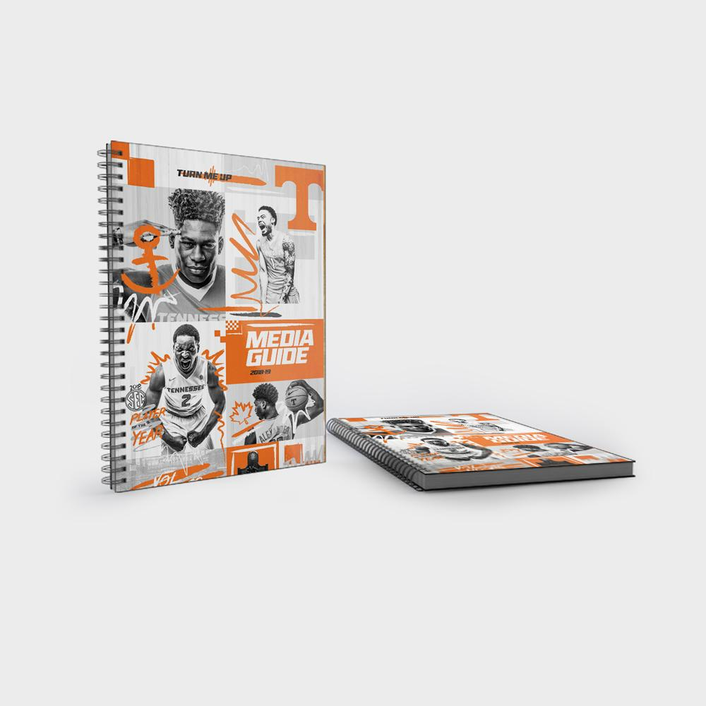 Tennessee Volunteers - 2018-19 Men's Basketball Media Guide - College Wall Art #Wall Decal