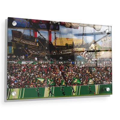 USF Bulls - Bulls in RayJay - College Wall Art #Acrylic