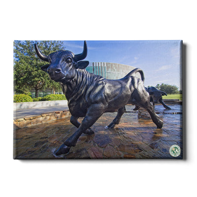 USF Bulls -Mashal Student Center - College Wall Art #Canvas