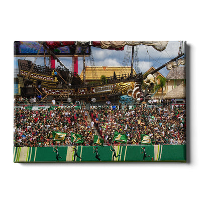 USF Bulls - Bulls in RayJay - College Wall  Art #Canvas