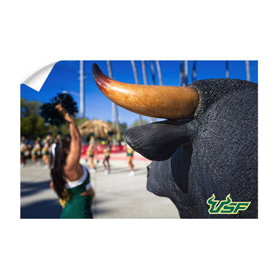USF Bulls - Bulls Watch - College Wall Art #Wall Decal
