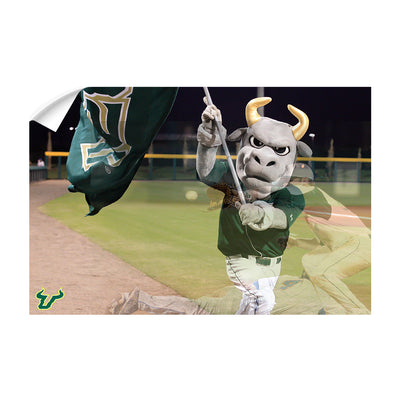 USF Bulls - Bulls Baseball - College Wall Art #Wall Decal