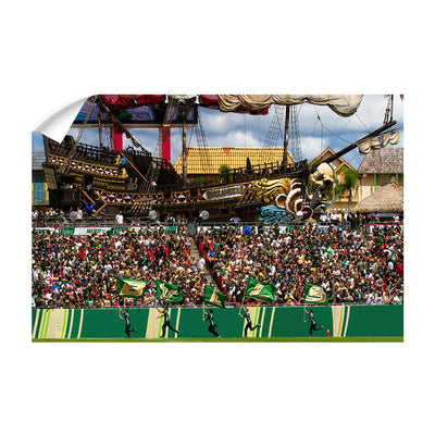 USF Bulls - Bulls in RayJay - College Wall Art #Wall Decal