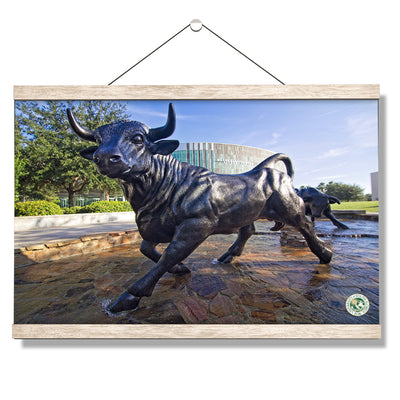 USF Bulls -Mashal Student Center - College Wall Art #Hanging Canvas