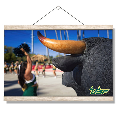 USF Bulls - Bulls Watch - College Wall Art #Hanging Canvas
