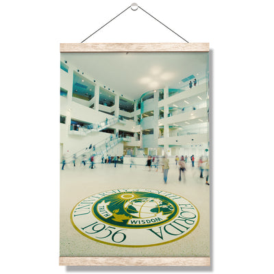 USF Bulls - Truth Wisdom - College Wall Art #Hanging Canvas