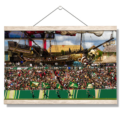 USF Bulls - Bulls in RayJay - College Wall Art #Hanging Canvas