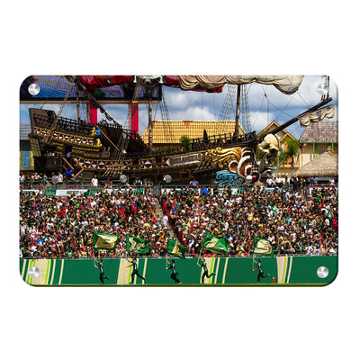 USF Bulls - Bulls in RayJay - College Wall Art #Metal