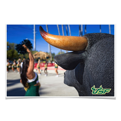 USF Bulls - Bulls Watch - College Wall Art #Poster