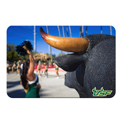 USF Bulls - Bulls Watch - College Wall Art #PVC