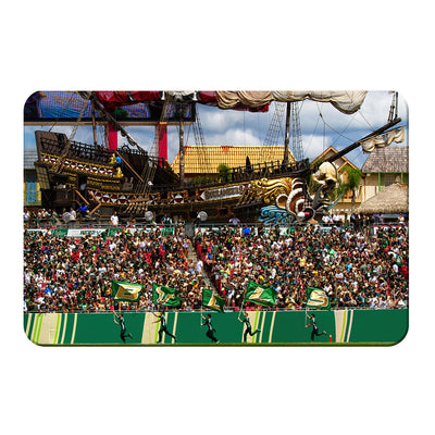 USF Bulls - Bulls in RayJay - College Wall Art #PVC