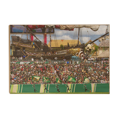 USF Bulls - Bulls in RayJay - College Wall Art #Wood