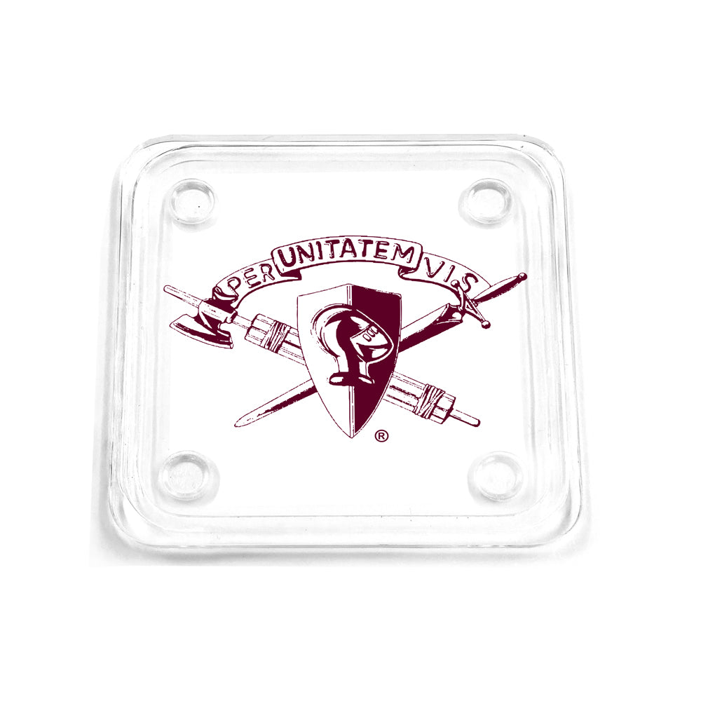 Texas A&M - Corps Brass Coaster