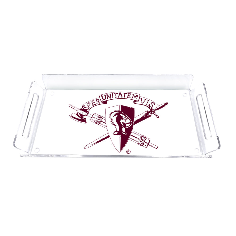 Texas A&M - Corps Brass Tray