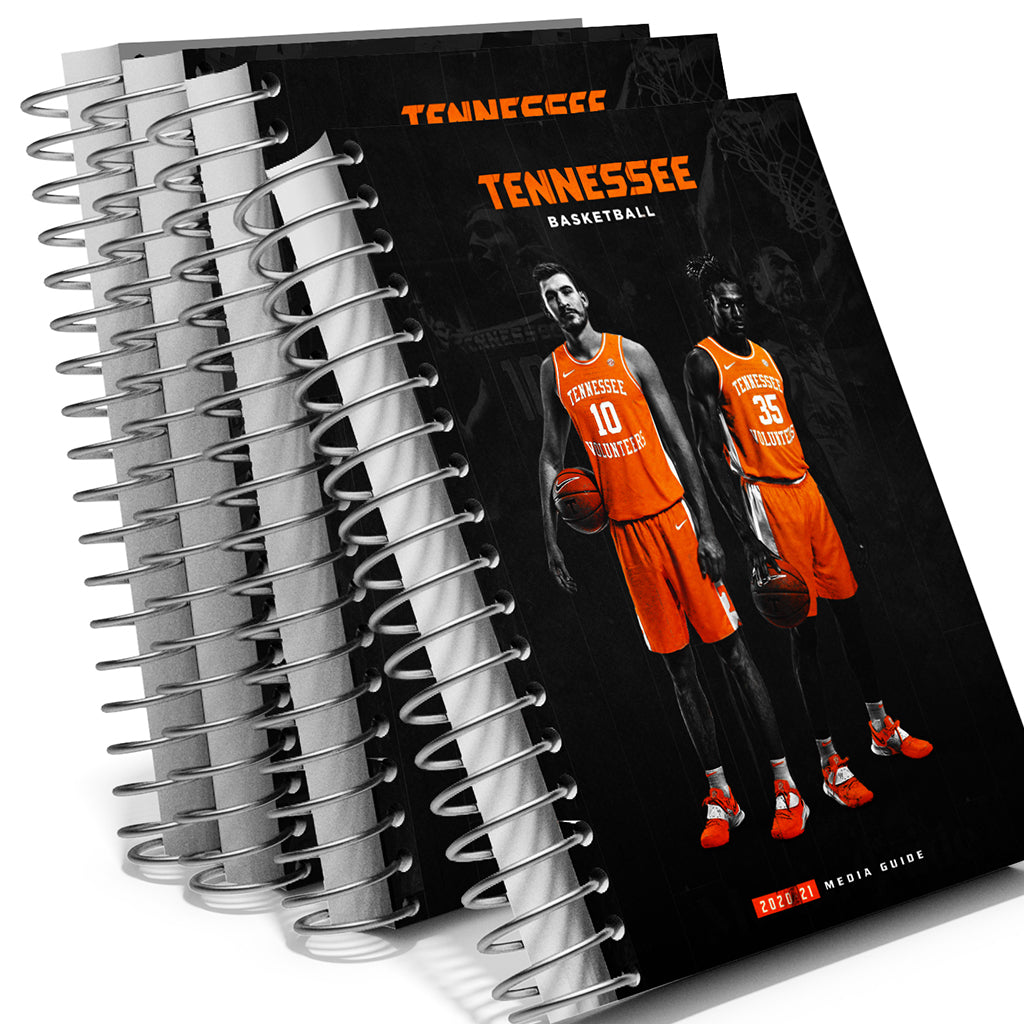 Tennessee Volunteers - 2020-21 Men's Basketball Media Guide