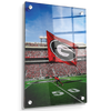 Georgia Bulldogs - The G Flag - College Wall Art #Acrylic