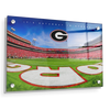 Georgia Bulldogs - It's Saturday in Athens End Zone - College Wall Art #Acrylic