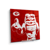 Georgia Bulldogs - Georgia Dawg - College Wall Art #Acrylic Mini