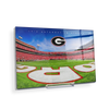 Georgia Bulldogs - It's Saturday in Athens End Zone - College Wall Art #Acrylic Mini