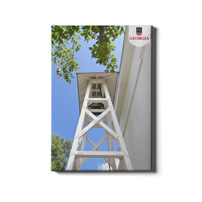 Georgia Bulldogs - Chapel Bell Tower - College Wall Art #Canvas