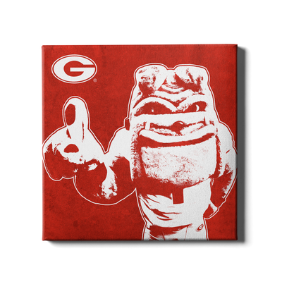 Georgia Bulldogs - Georgia Dawg - College Wall Art #Canvas