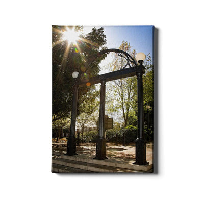 Georgia Bulldogs - Sunshine Arch - College Wall Art #Canvas