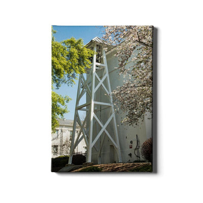 Georgia Bulldogs - Spring Bell Tower - College Wall Art #Canvas
