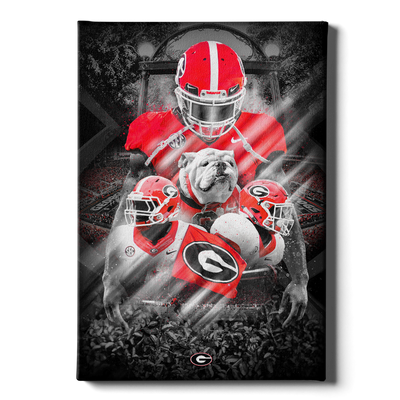 Georgia Bulldogs - This is Georgia - College Wall Art #Canvas