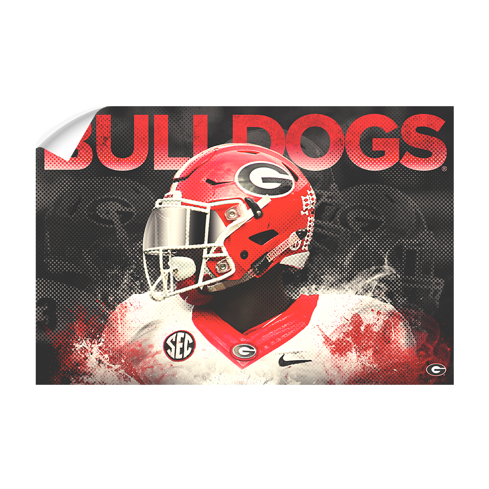 Georgia Bulldogs - Georgia - College Wall Art #Canvas