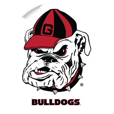Georgia Bulldogs - Bulldogs - College Wall Art #Wall Decal