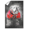 Georgia Bulldogs - The Dawg Painting - College Wall Art #Wall Decal