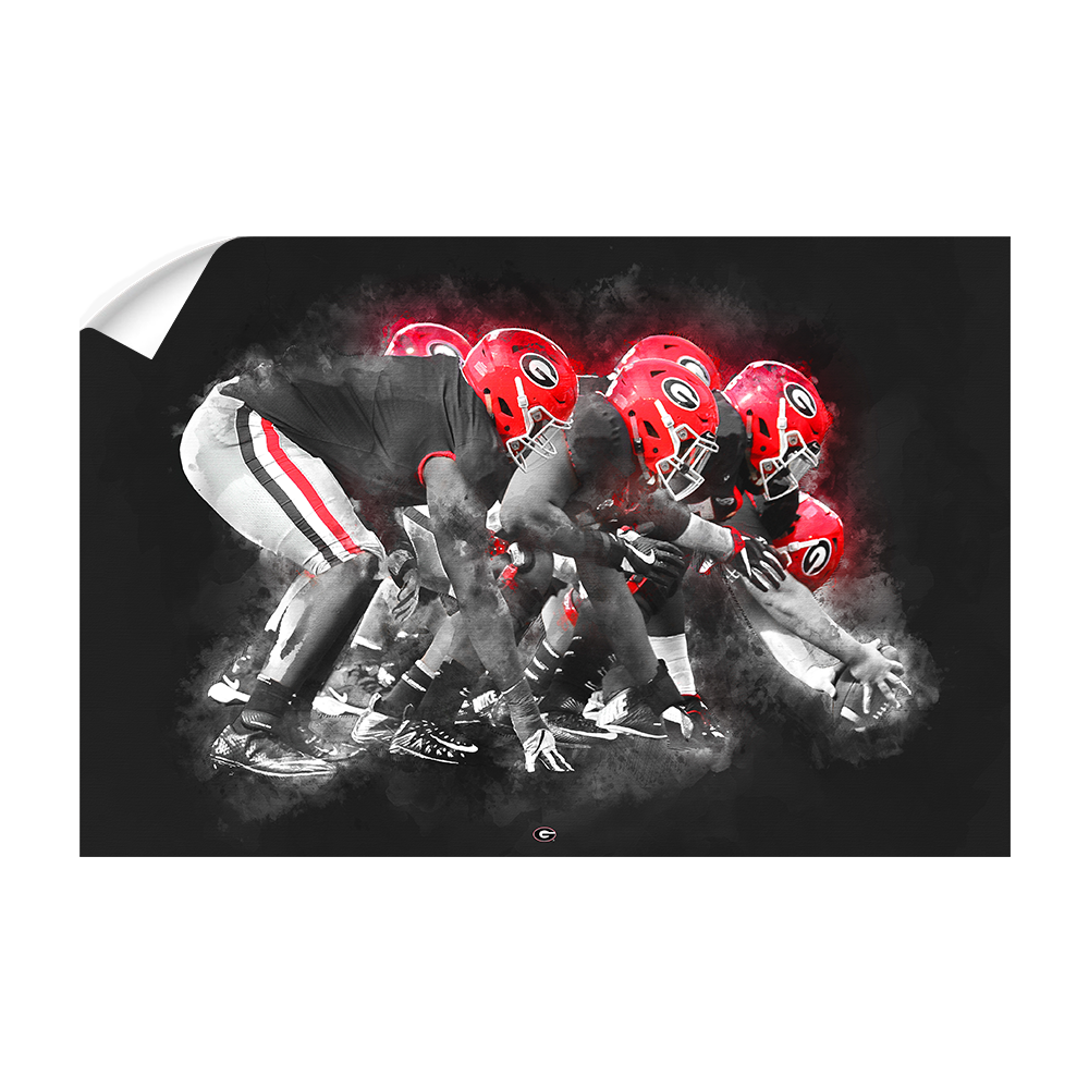 Georgia Bulldogs - Big Dawgs - College Wall Art #Canvas
