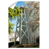 Georgia Bulldogs - Spring Bell Tower - College Wall Art #Wall Decal